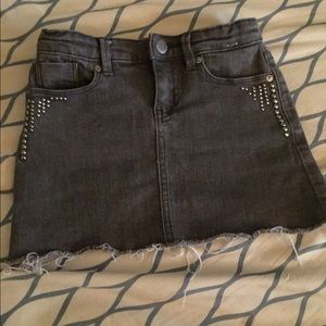 Calvin Klein's girls denim skirt (stone grey)